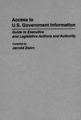 Access to U.S. Government Information