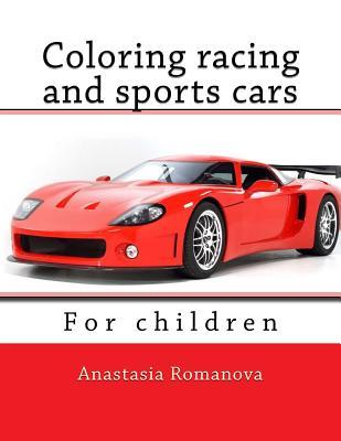 Coloring Racing and Sports Cars