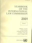 Yearbook of the International Law Commission 2001