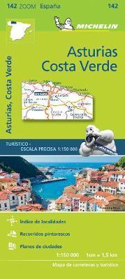 Asturias, Costa Verde (Michelin Zoom Maps)