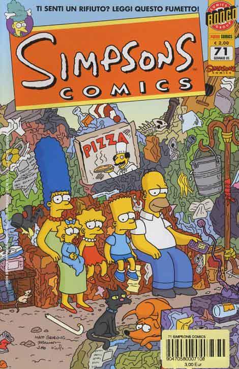 Simpsons Comics n. 71