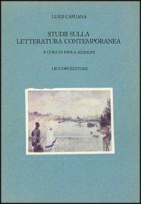 Studi sulla letteratura contemporanea