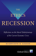 The ethics recession