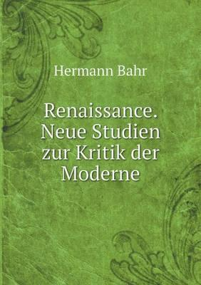 Renaissance. Neue St...
