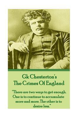GK Chesteron's The Crimes Of England