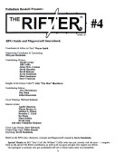 Rifter Number Four