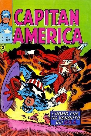 Capitan America n. 121