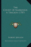 The Count of Narbonne, a Tragedy