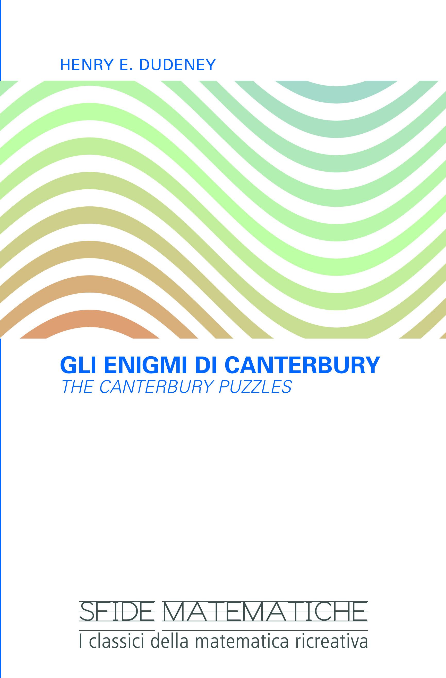 Gli enigmi di Canterbury (The Canterbury Puzzles)