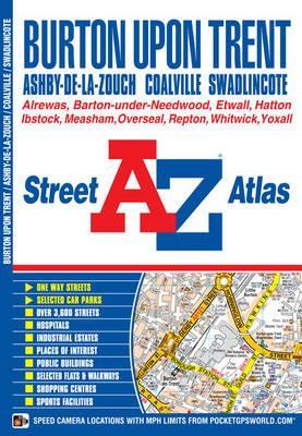Burton on Trent Street Atlas