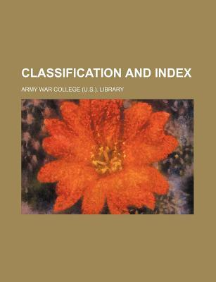 Classification and Index