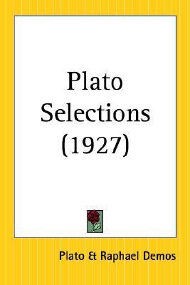 Plato Selections 1927