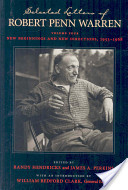 Selected Letters of Robert Penn Warren: New beginnings and new directions, 1953-1968