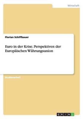 Euro in der Krise. Perspektiven der Europäischen Währungsunion