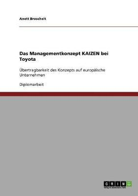 Das Managementkonzept Kaizen bei Toyota
