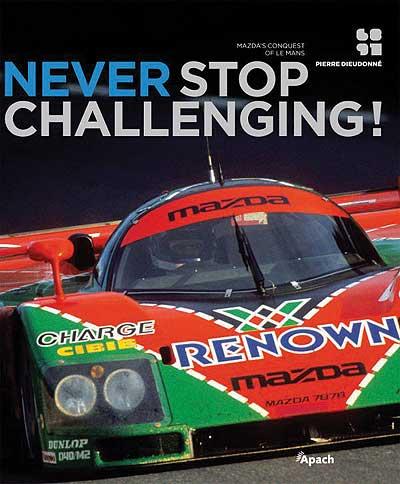 Never Stop Challenging!