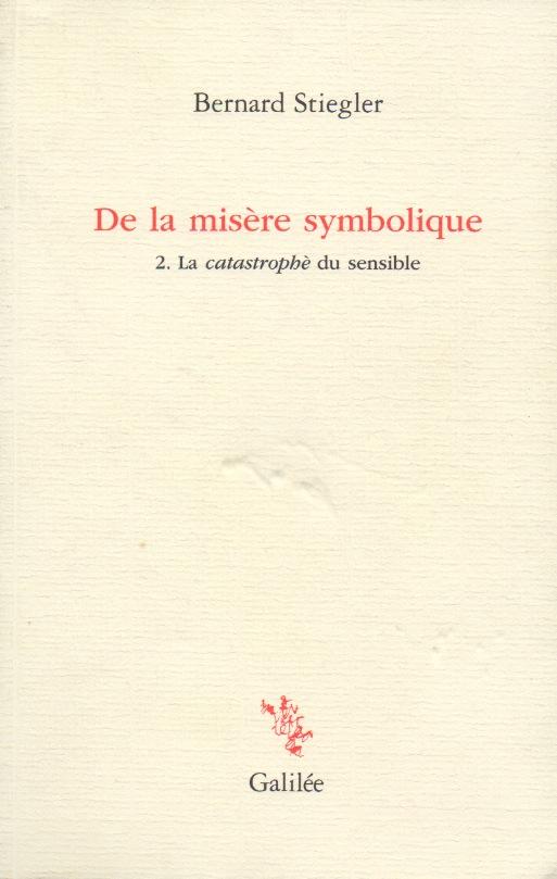 De la misère symbolique
