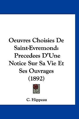 Oeuvres Choisies de ...