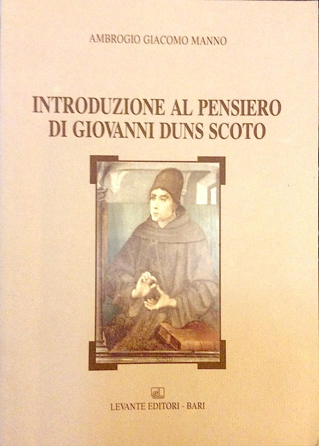 Introduzione al pensiero di Giovanni Duns Scoto