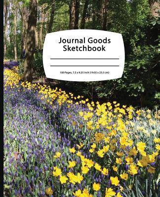 Journal Goods Sketchbook - Flower Road