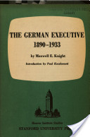 The German Executive, 1890-1933