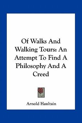 Of Walks and Walking Tours
