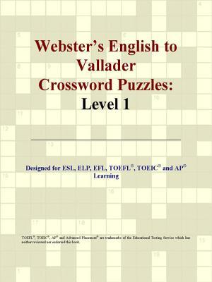 Webster's English to Vallader Crossword Puzzles