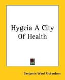 Hygeia A City Of Health