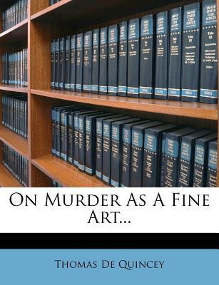 On Murder as a Fine ...