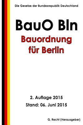 Bauordnung Fur Berli...