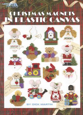 Christmas Magnets in Plastic Canvas, Manuale per creare magneti a tema Natalizio