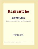Ramuntcho (Webster's Spanish Thesaurus Edition)