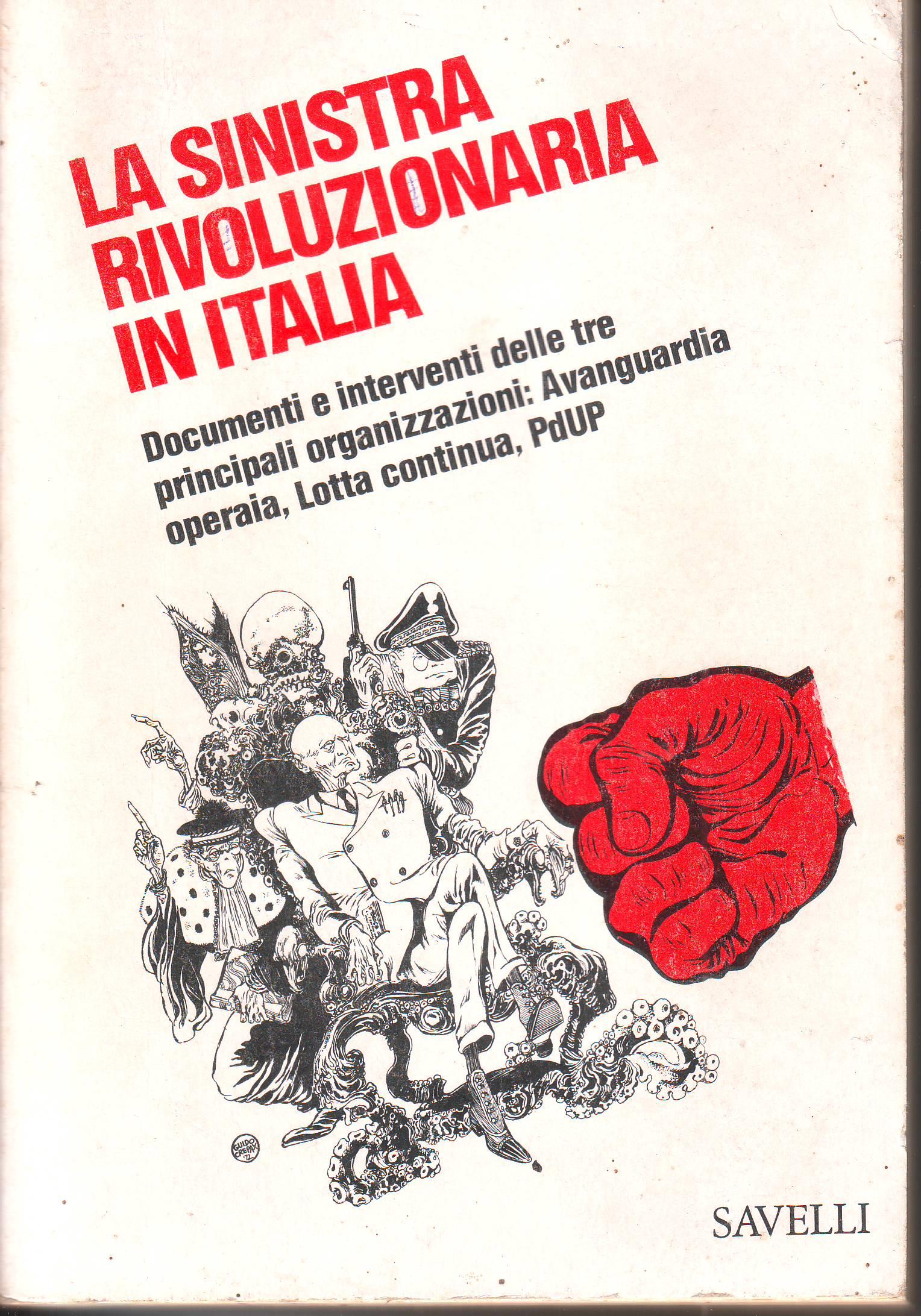 La sinistra rivoluzionaria in Italia