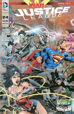 Justice League n. 24