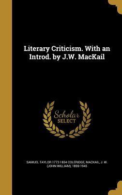 LITERARY CRITICISM W...