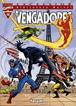 Biblioteca Marvel: Los Vengadores #12
