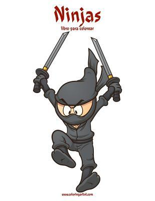Ninjas libro para colorear / Ninjas Coloring Book