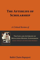 The Afterlife of Scholarship