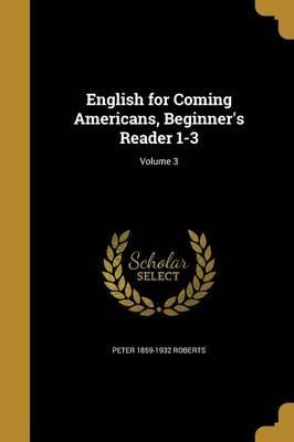 ENGLISH FOR COMING AMER BEGINN