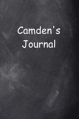 Camden Personalized Name Journal