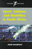 Sport, Cultures, and Identities in South Africa