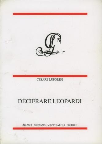 Decifrare Leopardi