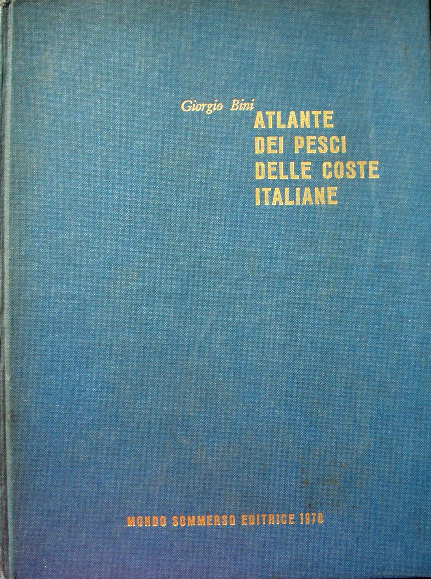 Atlante dei pesci delle coste italiane