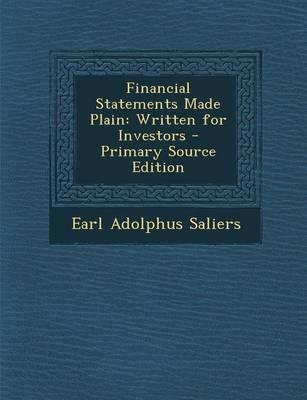 Financial Statements Made Plain