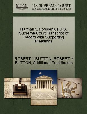 Harman V. Forssenius U.S. Supreme Court Transcript of Record with Supporting Pleadings