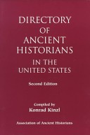Directory of ancient historians in the United States