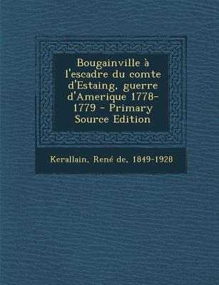 Bougainville A L'Escadre Du Comte D'Estaing, Guerre D'Amerique 1778-1779