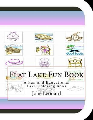 Flat Lake Fun Book Coloring Book
