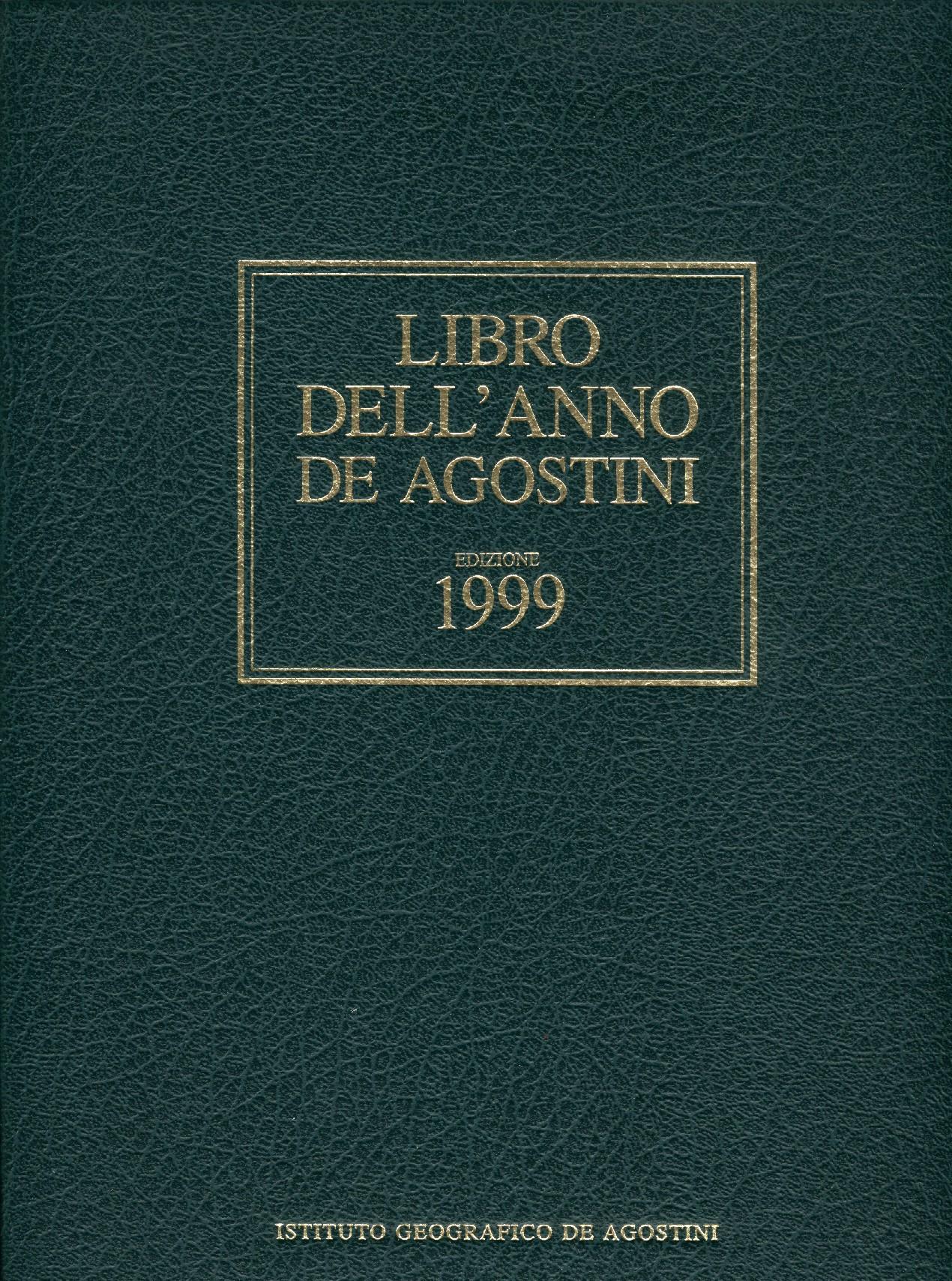 Libro dell'anno De Agostini Edizione 1999
