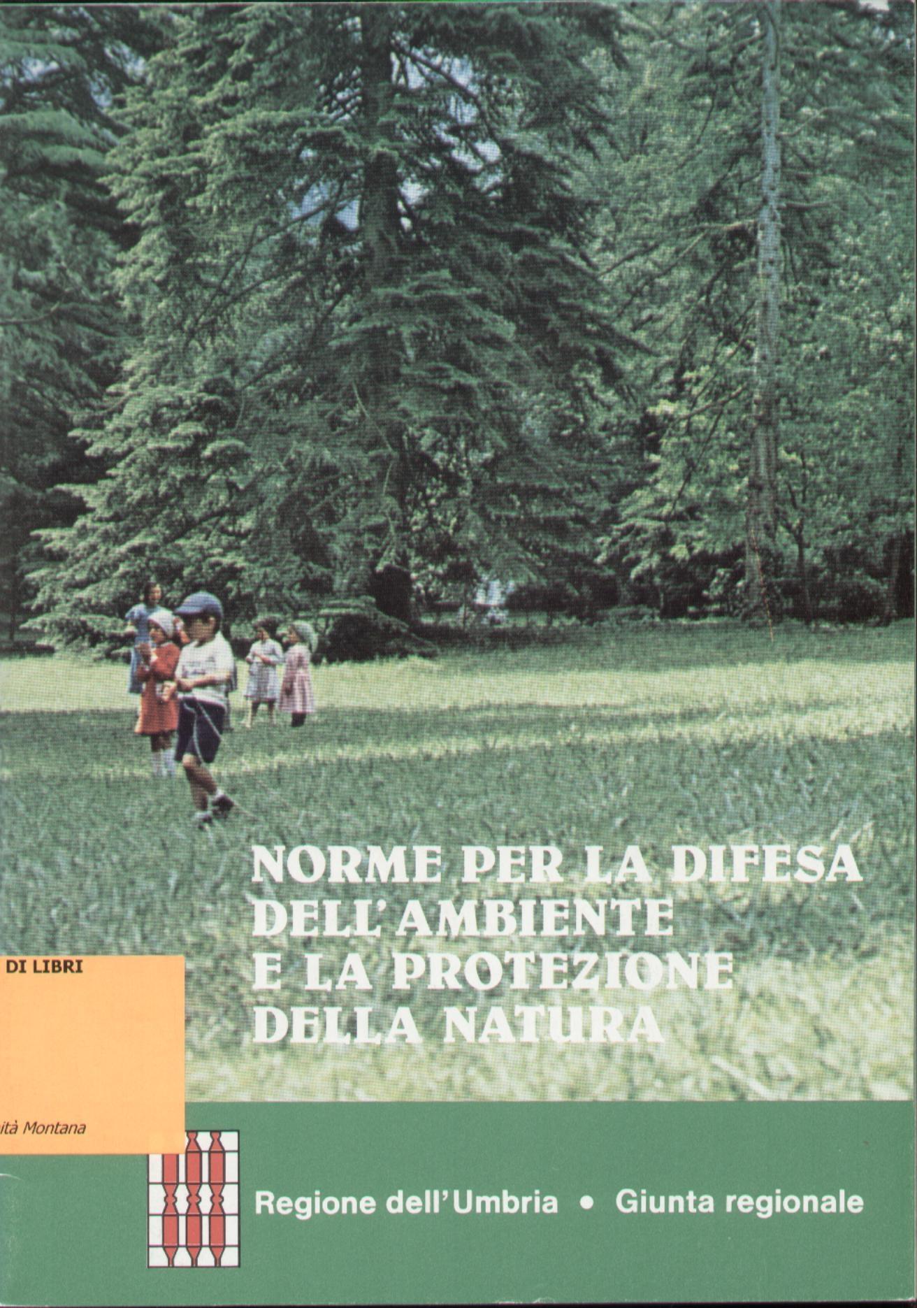 Norme per la difesa dell'ambiente e la protezione della natura